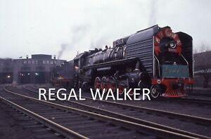 ORIGINAL 35MM CR CHINA CHINESE RAILWAY SLIDE STEAM LOCO QJ 6565 BAOTOU AREA 1988