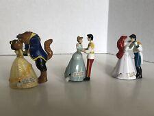 Rare Lot Of Three Disney Princess Wind Up Toys Vintage