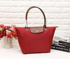 Longchamp  Le Pliage Nylon Tote Handbag  large red