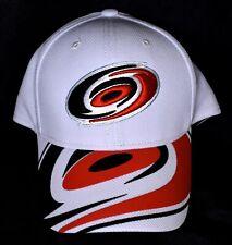 newest 48857 f66a5 CAROLINA HURRICANES Reebok Hat Cap (Size L XL) White NHL  NEW