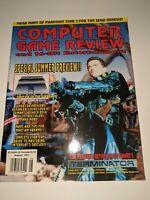 Computer Game Review Magazine 16-bit Entertainment August 1991 Terminator