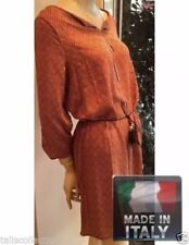 3/4 Sleeve Regular Dresses for Women with Blouson