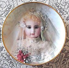 Hanau Doll Museum PORTRAIT OF BRIGITTE Collectors Plate Limited Ed Franklin Mint
