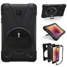 AMZER Stand Protect Case Handheld Strap For Samsung Galaxy Tab A 8.0 T385 2017