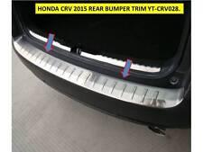 HONDA CRV  2015 - 2017 REAR BUMPER TRIM  STAINLESS STEEL - YT-CRV028