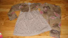 BOUTIQUE LITTLE ANGEL CLUB 5/6 FLORAL RHINESTONE CAPRI DRESS SET
