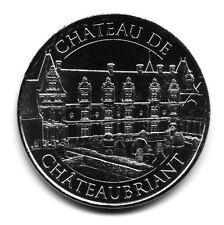 44 CHATEAUBRIANT Château, Couleur argent, 2016, Monnaie de Paris