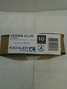 Kichler Lighting Clear 25W Wedge Landscape 12V Bulb-15598CLR NEW-Box of 10