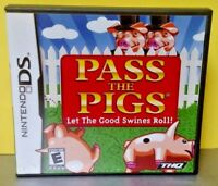Pass The Pigs Swines Roll  -  Nintendo DS DS Lite 3DS 2DS Game Complete + Tested