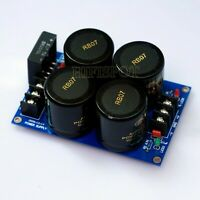 rectify filter power supply board for LM3886 etc amplifier board