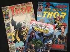 Thor / Marvel Adventures - Avengers – 2 Comic Books + 1 Graphic Novel Set