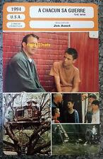 US Jon Avnet Drama THE WAR Kevin Costner ELIJAH WOOD FRANCESE Pellicola FIGURINE