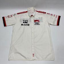 Vintage 90s F1 Marlboro Racing Team Penske Pit Crew Button Up Formula Authentic