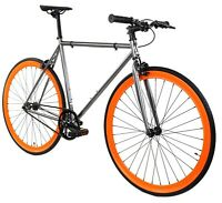 Golden Cycles Fixed Gear Single Speed Bike Bicycle Blaze - 41 45 48 52 55 59 MM