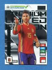 ROAD TO EURO 2020 -Adrenalyn Panini- Card LIMITED PREMIUM - RAMOS - SPAIN