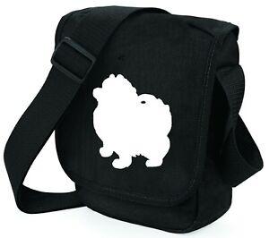 Pomeranian Dog Bag Silhouette Shoulder Bags Handbags Pom Birthday Xmas Gift