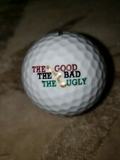 The Good The Bad The Ugly Logo Golf Ball. Pinnacle. New