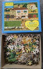 MB Puzzle 1000 piece - Charles Wysocki - Ice Cream and Hopscotch