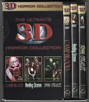 The Ultimate 3D Horror Collection Complete Dvd Box Set Camp Blood 3-D THE