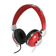 Quality Childrens Kids Girls Teens DJ Style Headphones mini iPad iPod Phone