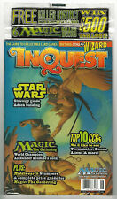 INQUEST #14 MTG, Star Wars, Killer Instinct, Mythos w/inserts Factory Sealed NOS