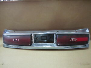 BUICK RIVIERA 88-93 1988-1993 REAR TAIL PANEL w/ RH and LH TAIL LIGHTS OE