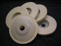 15 pcs THK Hard Wool Felt rotary burrs polishing bob bobs jewelry 2.35mm shank