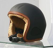 """Titan """"retro"""" nuevos culto casco de escorpión Harley Police Chopper Jet casco talla XXXL"""