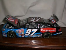 Kurt Busch *ROOKIE* 9/11 Special RARE DARK CHROME Team Caliber Owners 2004 1:24