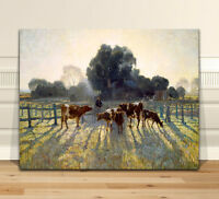 "Classic Australian Fine Art CANVAS PRINT 16x12"" Elioth Gruner Spring frost"