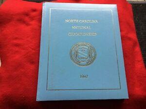 1982 UNC TarHeels North Carolina National Championship Basketball Hardcover Book