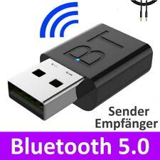 2-in-1 Bluetooth Adapter Empfänger Transmitter Musik TV PC Audio Sender 3.5mm