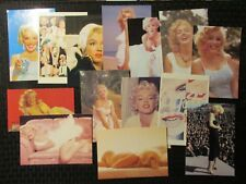 MARILYN MONROE Collectible Color Post Card LOT of 27 VF 8.0