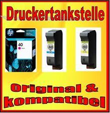 Mix Patronen HP 40 Deskjet 1200c 1600c Copyjet Xerox 2230 color Copier 210 51640