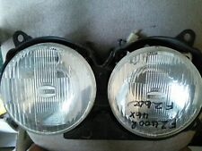 YAMAHA FZ400R 46X FZ600 2HW HEAD LIGHTS. GOOD CONDITION.  MOUNTING BROKEN