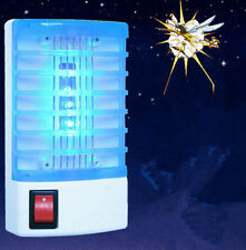 Electric Mosquito control Fly Bug Insect Trap LED Night Lamp Killer Zapper NEW