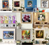 Mixed Style Diamond Embroidery 5D Diamond DIY Painting Cross Stitch Craft Decals