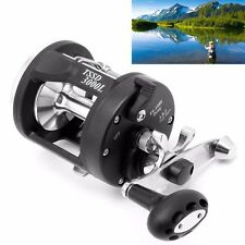 Freshwater Saltwater Trolling Fishing Reels Black Baitcasting Sea Fishing Reel