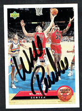 Will Perdue #CH8 signed autograph auto 1992-93 Upper Deck McDonalds Basketball