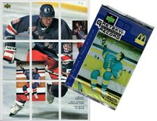 1999 MCDONALD'S UPPER DECK GRETZKY FOR THE PERFORMANCE RECORD 5,10 & 15 PACKS
