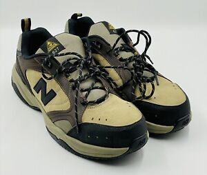 New Balance 627 Steel Toe [MID6270] Black Leather Shoes Size: 11.5 D NEW!