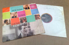 Gene Vincent 33RPM Doo Wop & 50s Rock 'n' Roll LP Records