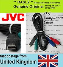 Original Jvc Cable de componente Gy Hm100 Gz Hd300 X900 Hd320 Hm200 qam1179-001
