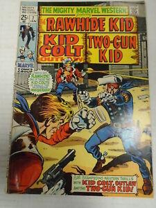MIGHTY MARVEL WESTERN #7 (1970) Herb Trimpe, Rawhide Kid, Two-Gun Kid, Kid Colt