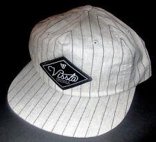 2426b15fd9e MENS VISSLA ASH GRAY SNAPBACK CAP ADJUSTABLE HAT ONE SIZE