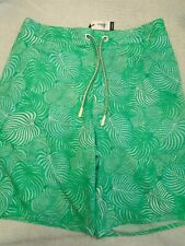 Johnnie-O West Coast Prep SAHA Half-Elastic Board Shorts Swim Trunks NWT LRG $89