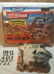 VINTAGE Galoob 1995 Micro Machines Military Battle Zones Double Takes Incomplete