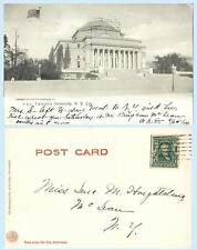 Columbia University New York City 1905 Rotagraph A97a Postcard - Scarce