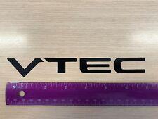 VTEC  Honda  Civic Accord S-2000 JDM sticker vinyl decal black
