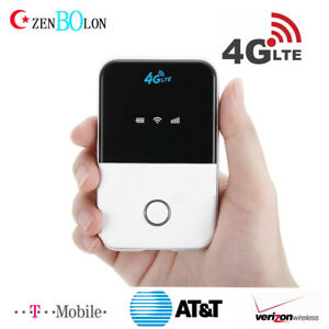 Portable WiFi Hotspot LTE Modem 4G SIM Card Router US For AT&T T Mobile Verizon